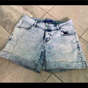 Acid Wash Denim Shorts size 6